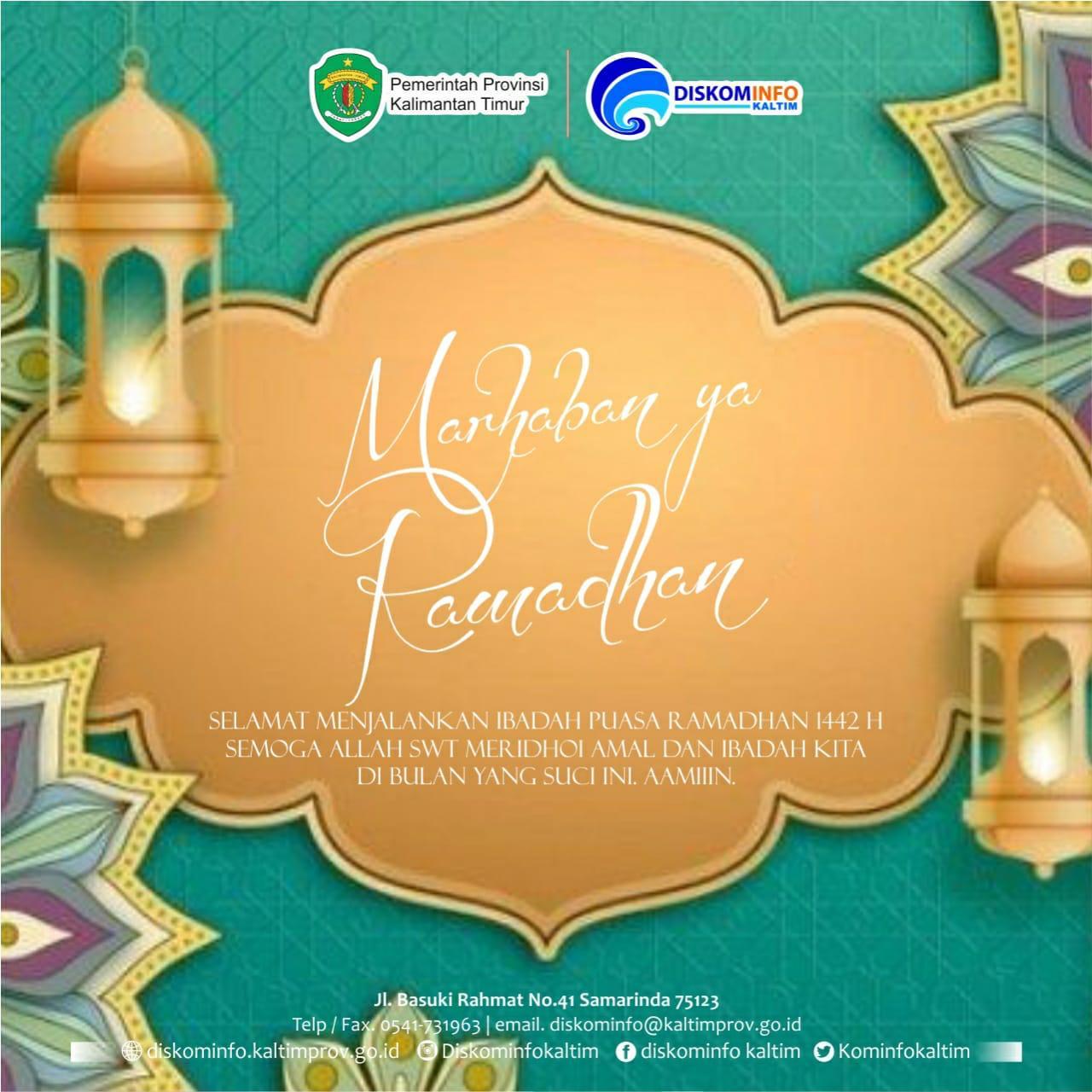 Ucapan Ramadhan 2021 M